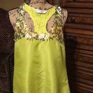 Tops - Trina Turk 100% silk tunic blouse